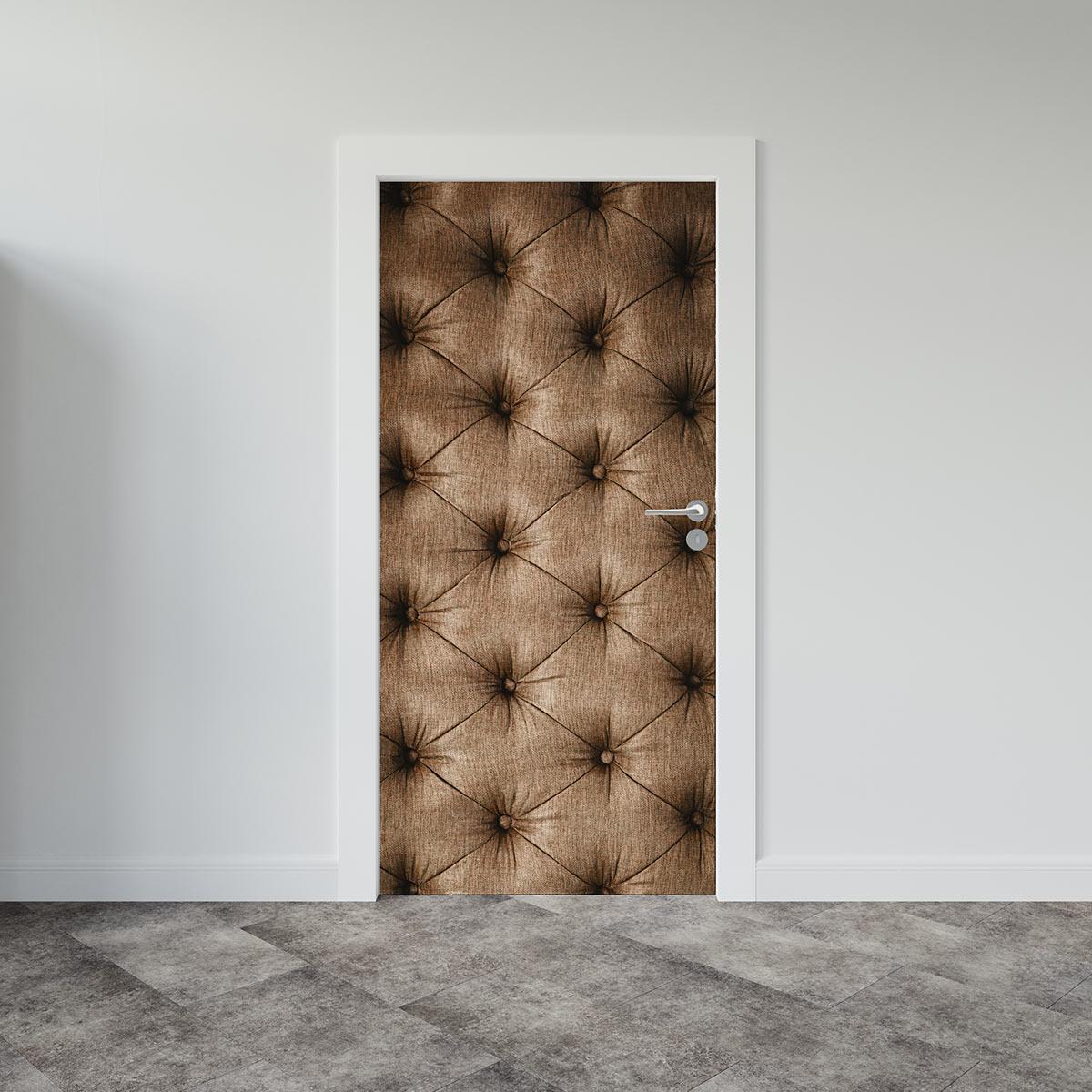 Αυτοκόλλητο πόρτας καπιτονέ