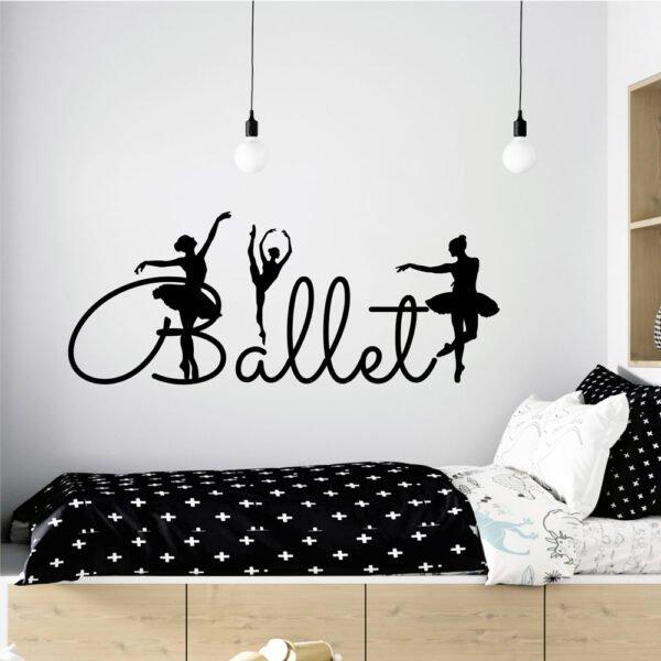 Αυτοκόλλητο τοίχου Ballet no2