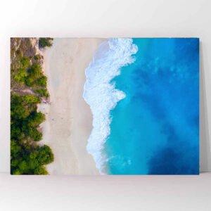 Πίνακας σε καμβά Aerial Beach