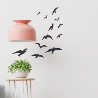 Αυτοκόλλητο τοίχου Birds