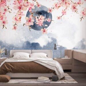 Φωτοταπετσαρία τοίχου Blossom Moon