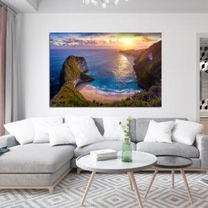 Πίνακας σε καμβα Colorful Sunset