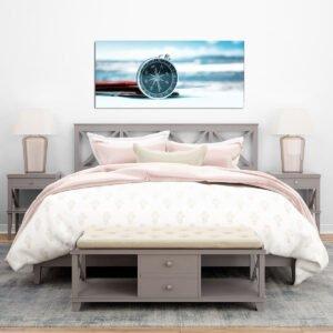 Beach Compass πίνακας σε καμβά