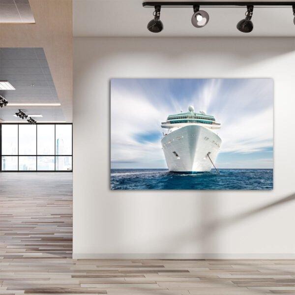 Πίνακας σε καμβα Κρουαζιερόπλοιο