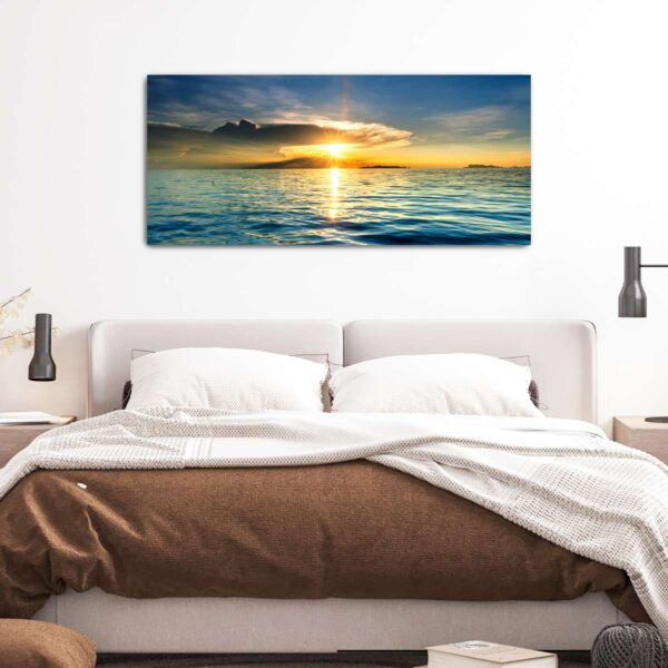 Φανταστικό Ηλιοβασίλεμα πίνακας σε καμβά