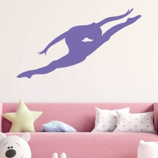 Αυτοκόλλητο τοίχου Gymnast
