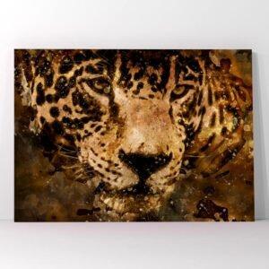 Πίνακας σε καμβά jaguar