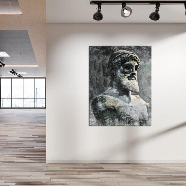 Πίνακας σε καμβα Ποσειδώνας
