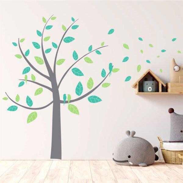 Αυτοκόλλητα τοίχου Beautiful tree