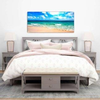 Όμορφη παραλία πίνακας σε καμβά