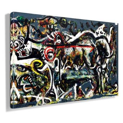 Πίνακας σε καμβά The She Wolf (Jackson Pollock)