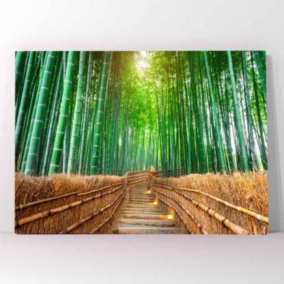 Πίνακας σε καμβά Bamboo Forest
