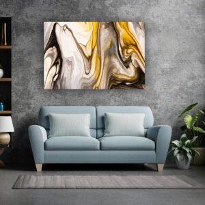Πίνακας σε καμβά Pure Marble