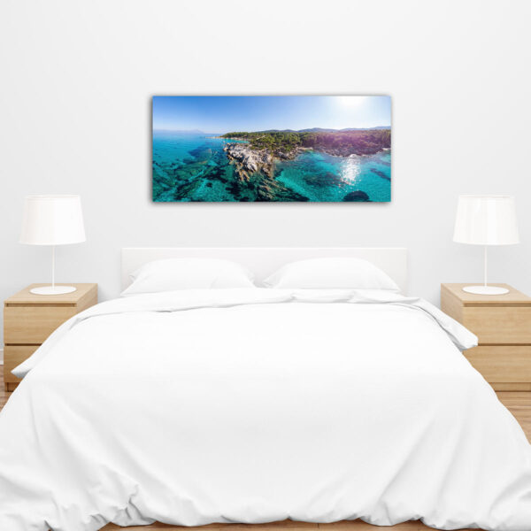 Sea Island πίνακας σε καμβά