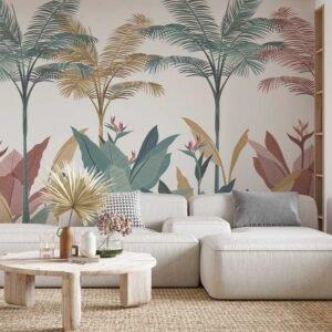Φωτοταπετσαρία τοίχου Tropical