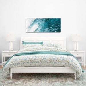Wave Panoramic πίνακας σε καμβά