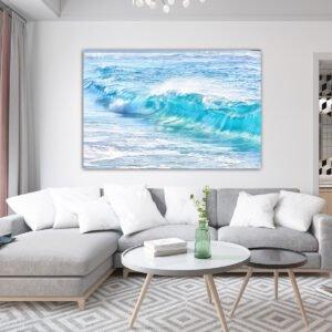 Πίνακας σε καμβα Waves