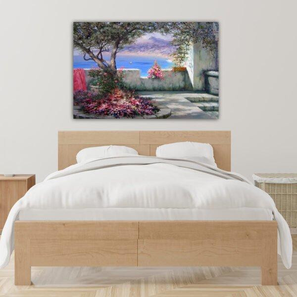 Πίνακας σε καμβά Balconi View painting