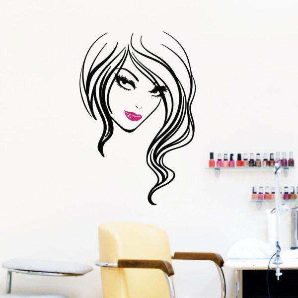 Αυτοκόλλητο τοίχου Beauty