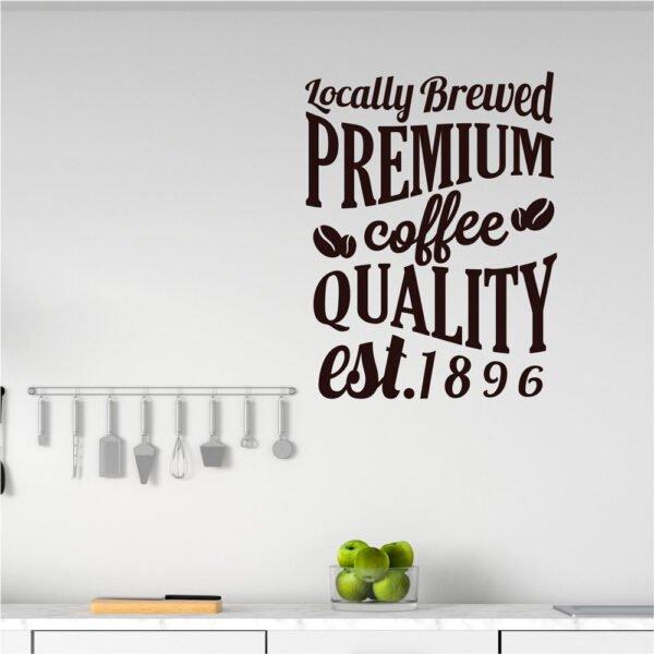 Αυτοκόλλητο τοίχου Coffee no3