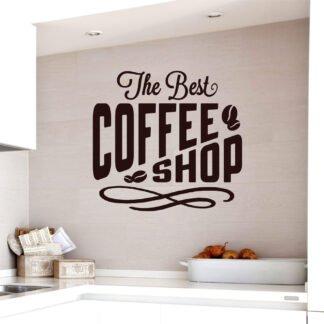 Αυτοκόλλητο τοίχου Coffee no2
