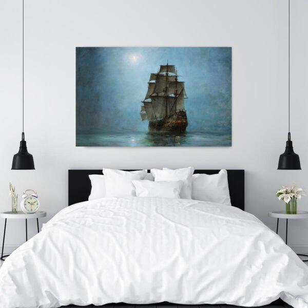 Πίνακας σε καμβα the Cresent Moon