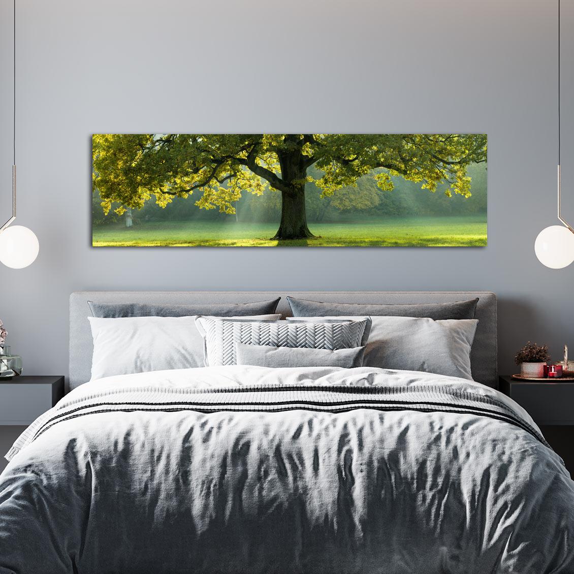 Πανοραμικός πίνακας Green Tree