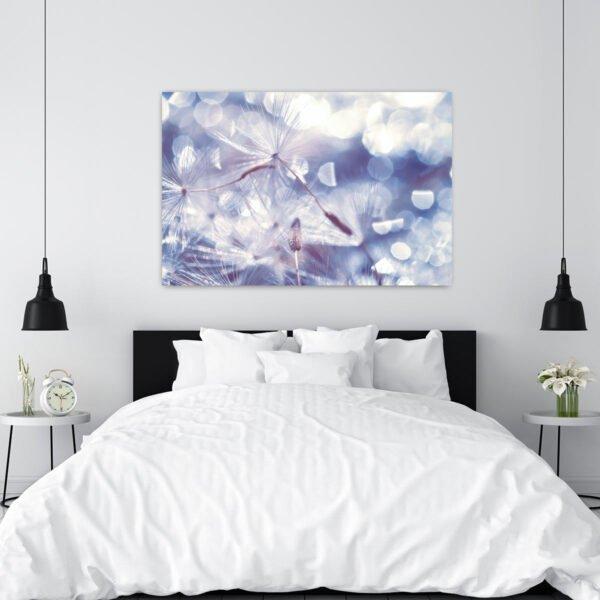 Πίνακας σε καμβά Romantic Dandelion