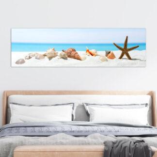 Πανοραμικός πίνακας sea sand shells