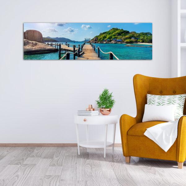 Πανοραμικός πίνακας Summer Bridge