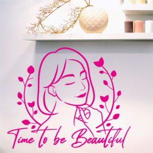 Time to be beautiful