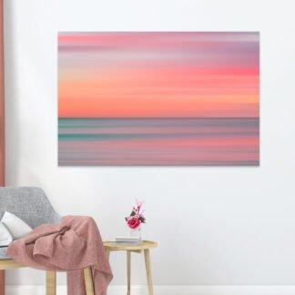 Πίνακας σε καμβά Abstract Sunset