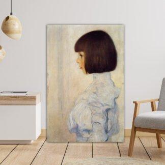 Πίνακας σε καμβα Portrait of Helene, Klimt Gustav, αντίγραφο