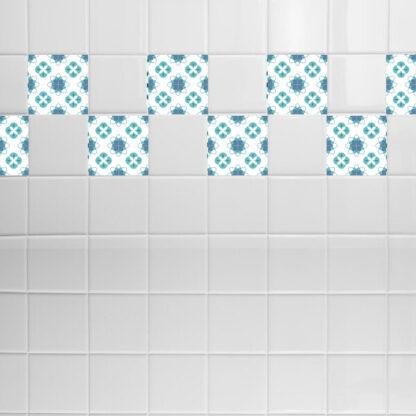 Σετ 8 τεμ αυτοκόλλητα πλακάκια pattern no 5