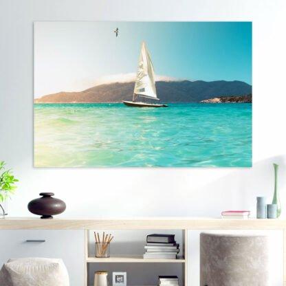 Πίνακας σε καμβά Sailing