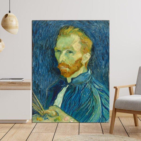 Πίνακας σε καμβα Van Gogh self portrait