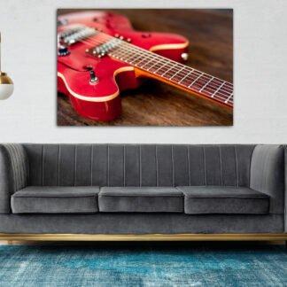 Πίνακας σε καμβά ηλεκτρική κιθάρα