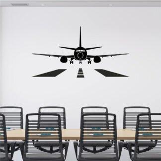 Αυτοκόλλητο τοίχου Αεροπλάνο