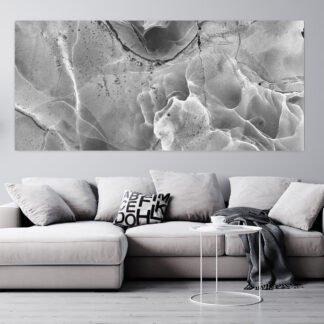 Πανοραμικός πίνακας σε καμβά Alcohol Abstract Grey