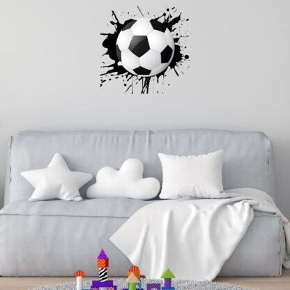 Αυτοκόλλητο τοίχου μπάλα ποδοσφαίρου