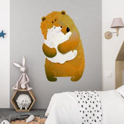 Αυτοκόλλητο τοίχου Bear Hug Me