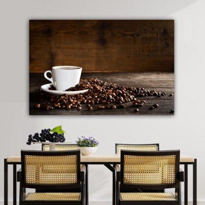 Πίνακας σε καμβά Coffee Cup