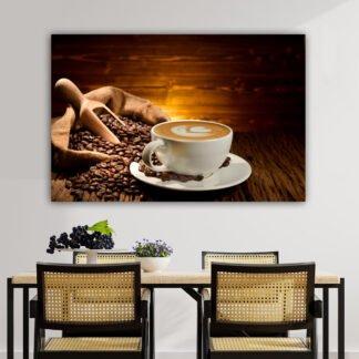 Πίνακας σε καμβά Coffee Cup No 2