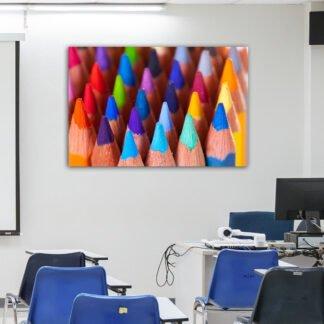 Πίνακας σε καμβά μολύβια