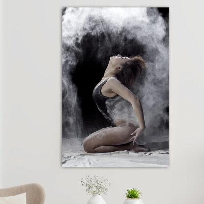 Πίνακας σε καμβά dust dancer