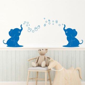 Αυτοκόλλητο τοίχου Ελεφαντάκια